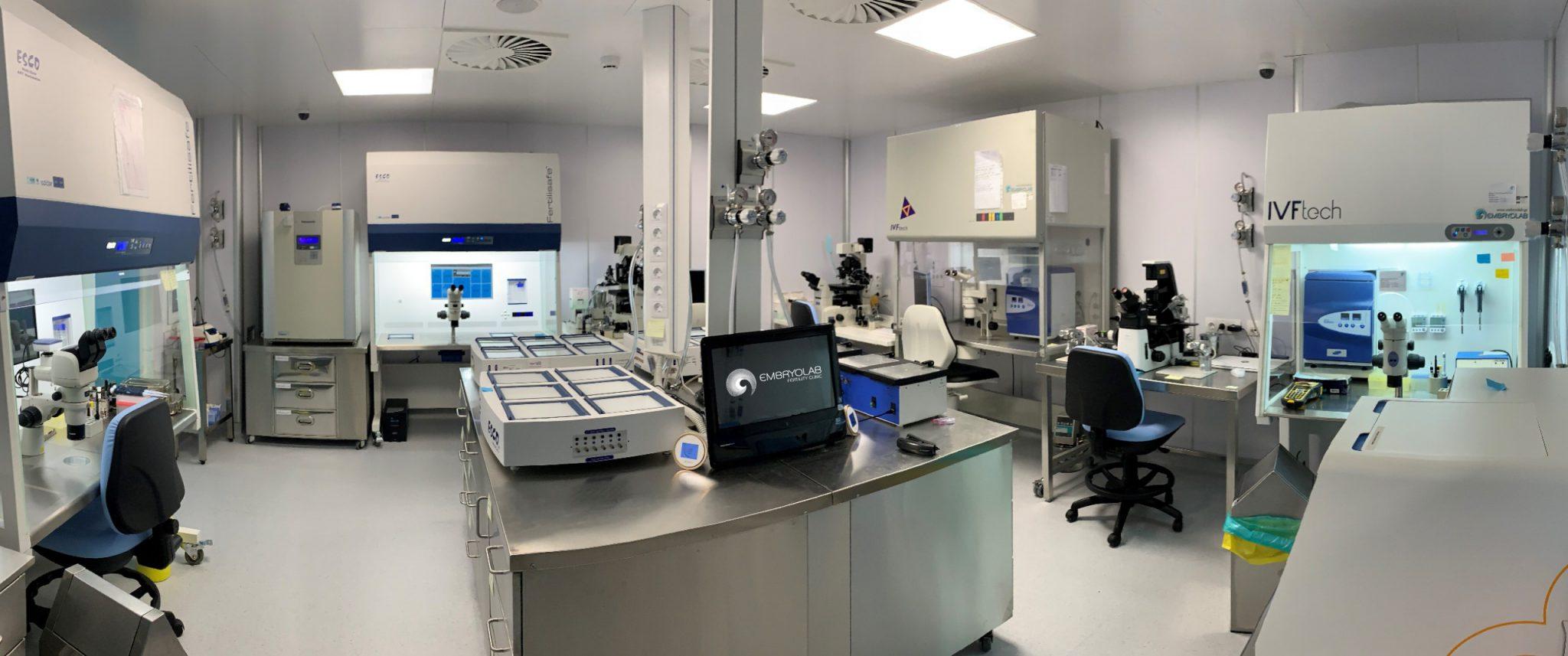 Embryolab ART lab